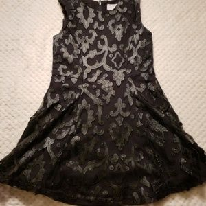 Girls black Children's place dress